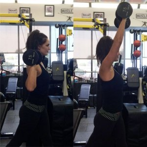 Shoulder Press with Ab Rotation